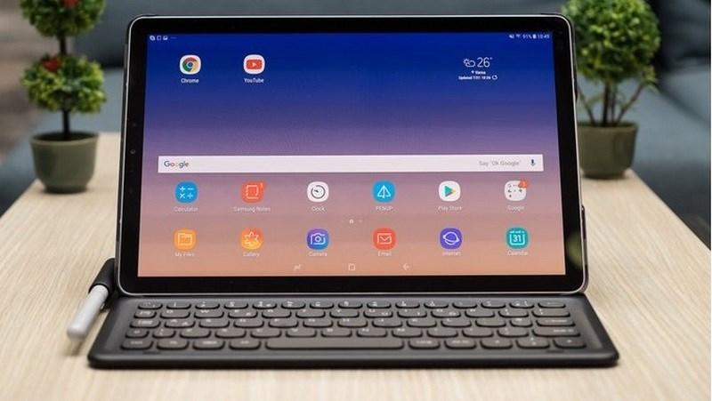 Galaxy Tab S4 chính thức ra mắt: Có cả S Pen, Dex chuyển đổi sang PC