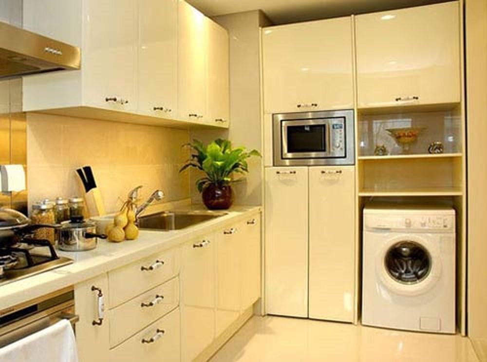 Đặt máy giặt ở đâu trong phòng bếp cho hợp phong thuỷ