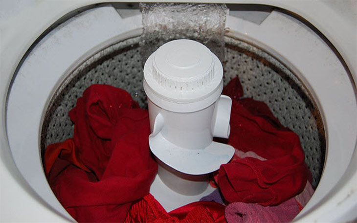 Nguồn nước vào máy giặt bị yếu