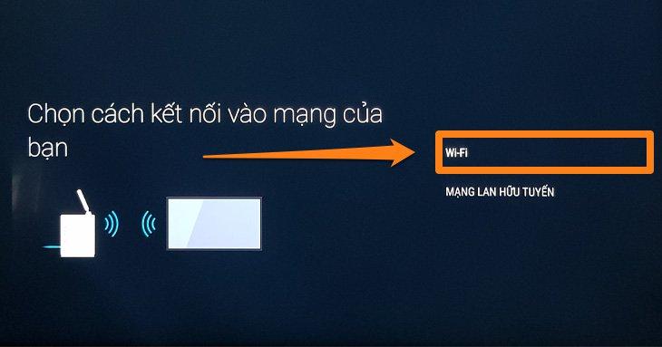 Hướng dẫn kết nối mạng trên Android tivi SONY 2018