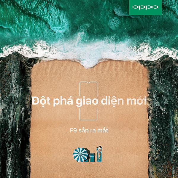 OPPO F9 màn hình giọt nước