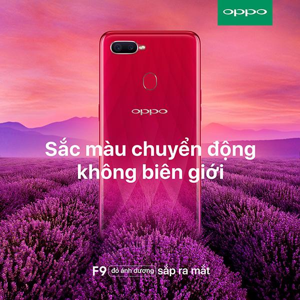 OPPO F9 màu đỏ