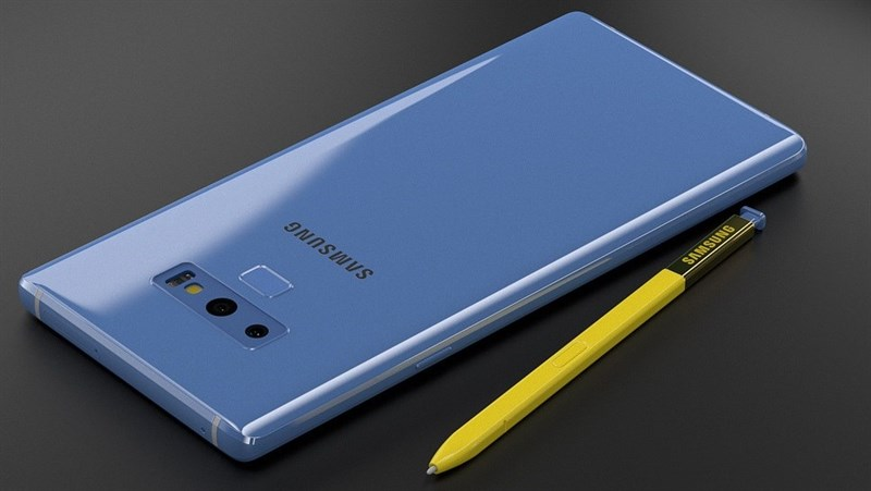 Galaxy Note 9 lộ tất cả cấu hình trên hộp đựng