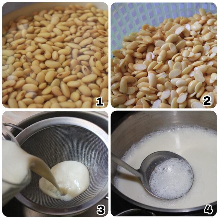 Sữa đậu nành và biến tấu từ đậu nành - tào phớ