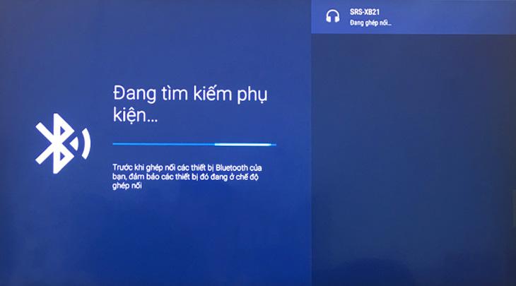 Hướng dẫn kết nối âm thanh trên Android tivi Sony với loa bằng Bluetooth