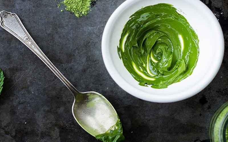 Chọn mua bột trà xanh nguyên chất
