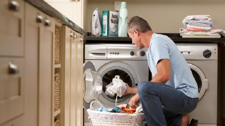 máy giặt lồng ngang không làm cho quần áo bị rối
