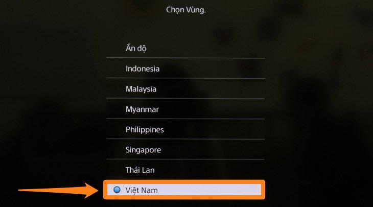 Chọn Việt Nam