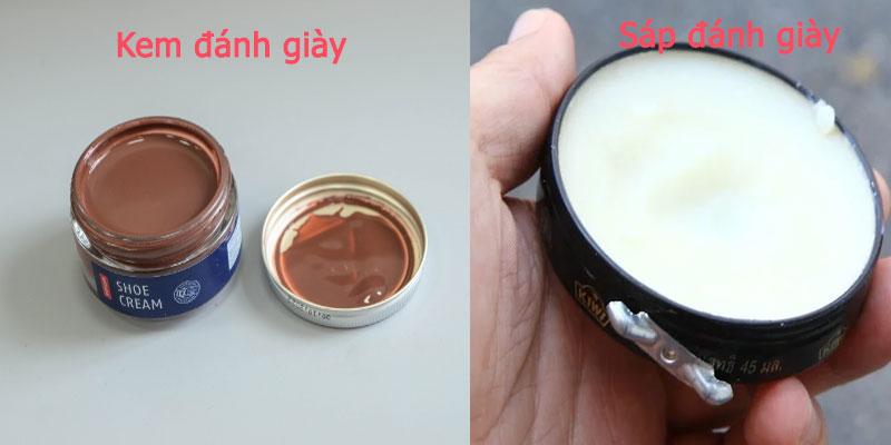 Sự khác nhau của xi dạng sáp và dạng kem