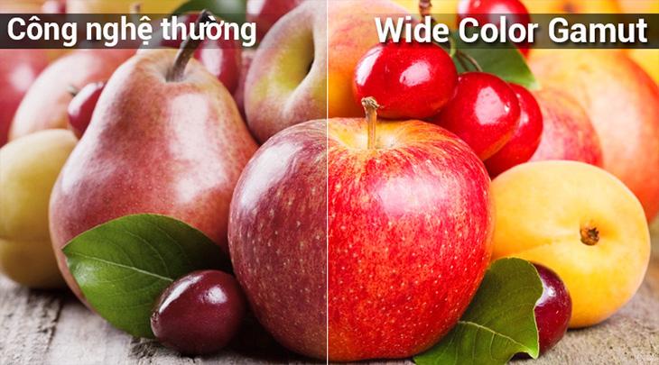 Công nghệ dải màu rộng Wide Color Gamut