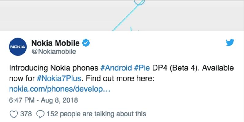 Hướng dẫn cài đặt Android 9.0 Beta 4 trên Nokia 7 Plus
