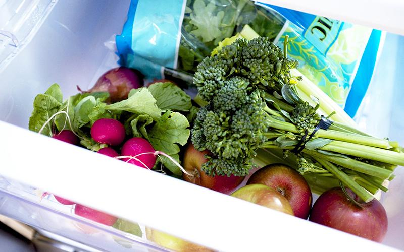 Để thực phẩm trong tủ lạnh quá lâu