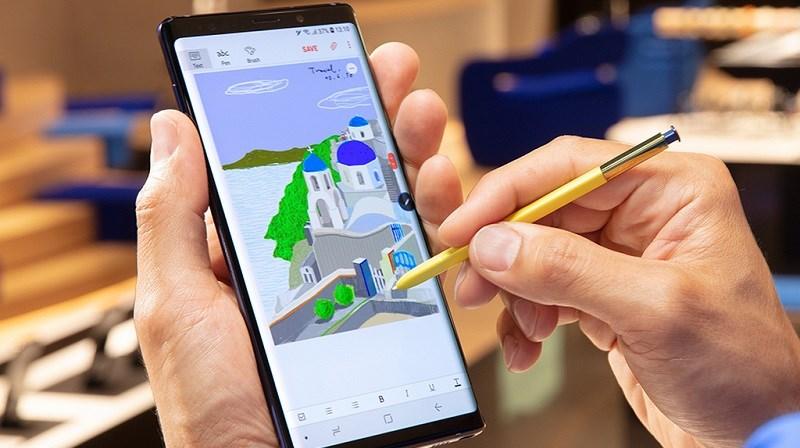 Galaxy Note 9 là mẫu smartphone có màn hình tốt nhất từ trước tới nay