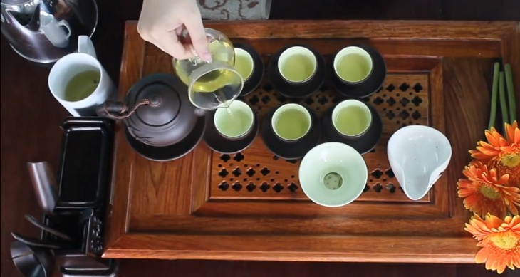 rót trà