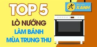 Top 5 lò nướng làm bánh dễ dàng cực ngon cho mùa trung thu tròn vị