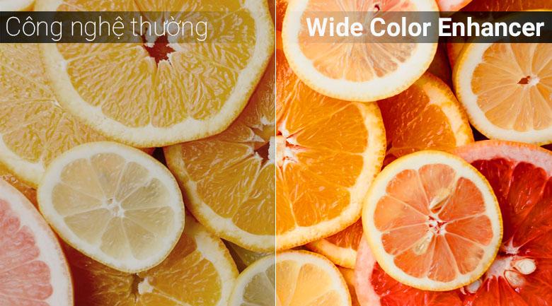 Công nghệ Wide Color Enhancer trên tivi Samsung