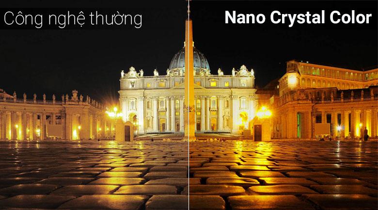Công nghệ Nano Crystal Color trên tivi Samsung