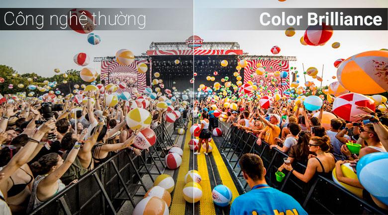 Công nghệ Color Brilliance trên tivi Samsung