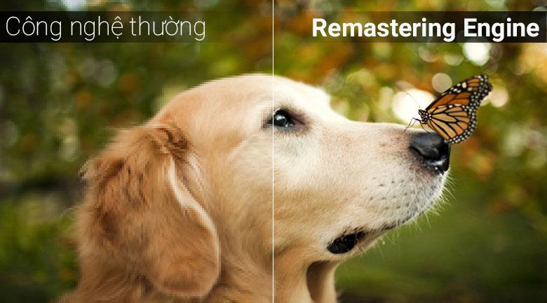 Công nghệ Remastering Engine trên tivi Samsung