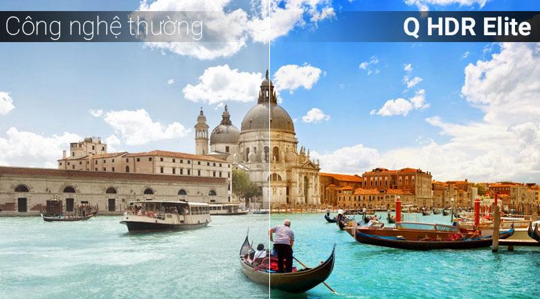 Công nghệ Q HDR Elite trên tivi Samsung