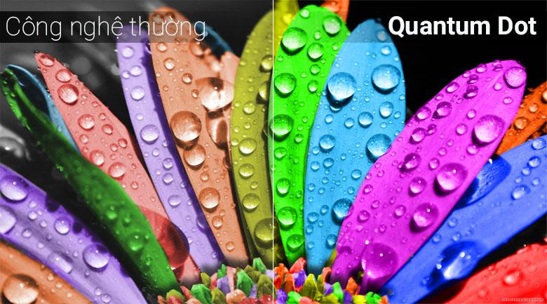 Công nghệ Quantum Dot trên tivi Samsung
