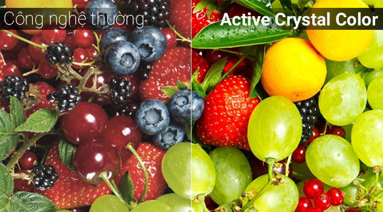 Công nghệ Active Crystal Color trên tivi Samsung