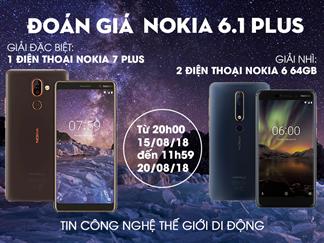 Săn Nokia 7 Plus, Nokia 6 New 64GB với minigame siêu dễ