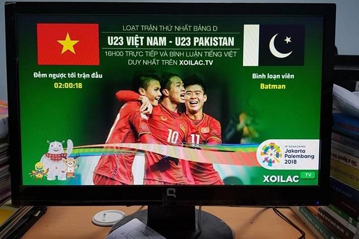 Khán giả Việt Nam sẽ không phải xem các trận đấu qua các trang web và đường link lậu nữa
