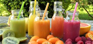 Nước ép trái cây - nguồn vitamin cho người bận rộn