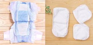 Miếng lót hay tã dán tốt cho trẻ sơ sinh