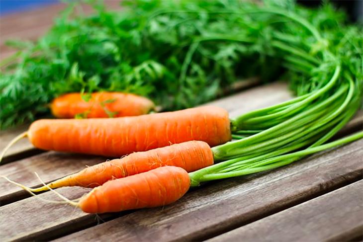 Cà rốt giải độc cơ thể