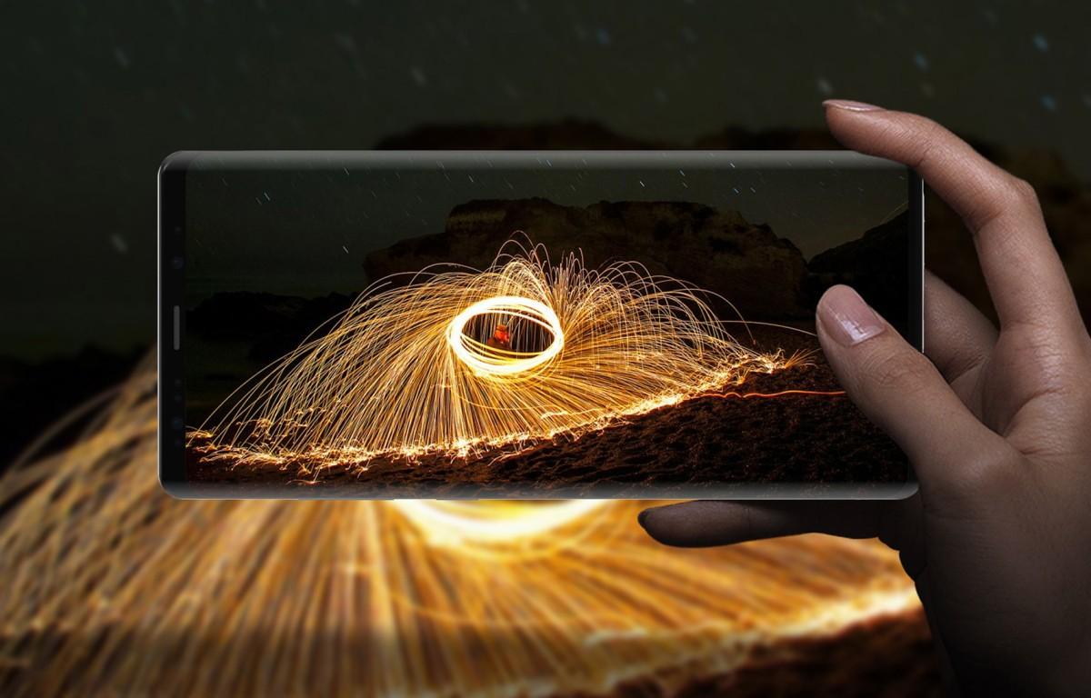 Chỉ cần Samsung Galaxy Note 9 trong tay 5 giây có ngay bức ảnh vạn người