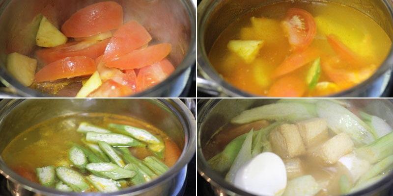 Nấu canh chua