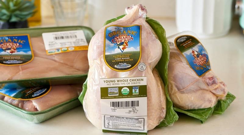 Sử dụng bao bì sản phẩm giảm lượng chất lỏng chảy ra từ thực phẩm