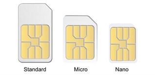 SIM thường, Micro SIM, Nano SIM, eSIM là gì? Có gì khác nhau?