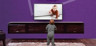 Tư vấn mua tivi cho gia đình có trẻ nhỏ