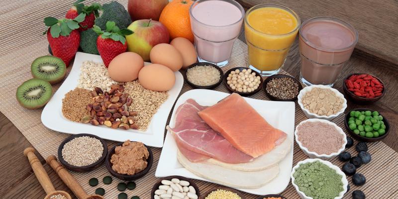 Protein giúp hình thành, cấu tạo nên các tế bào, cơ bắp cho thai nhi.