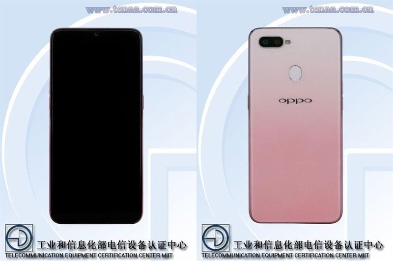 OPPO F9 Pro phiên bản màu hồng xuất hiện trên TENAA
