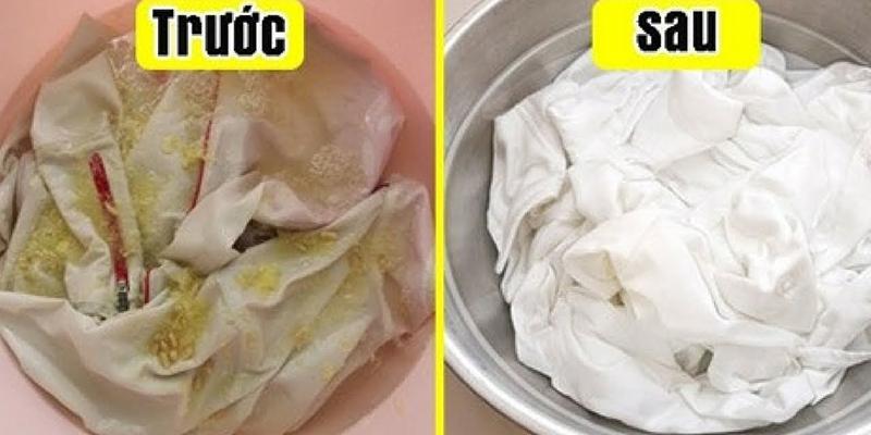 Giấm trắng dùng trong nấu ăn nhưng ít ai biết được chúng có khả năng làm mềm vải và tẩy sạch quần áo bạn như mới mà không cần dùng đến nước tẩy công nghiệp