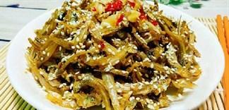 Cá cơm khô món ngon quen thuộc miền biển, các món ngon từ cá cơm khô