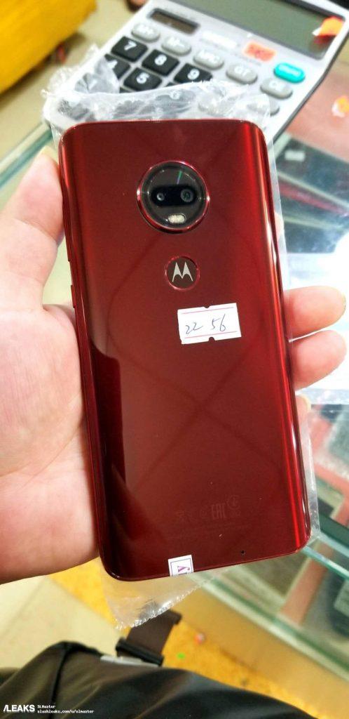 Cảm biến vân tay trên Moto G6 Plus phiên bản mới được dời ra phía sau máy