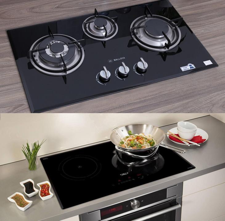 Ngoại trừ chi phí đầu tư ban đầu thì bếp điện hơn hẳn bếp gas về thẩm mỹ, tiện ích, an toàn