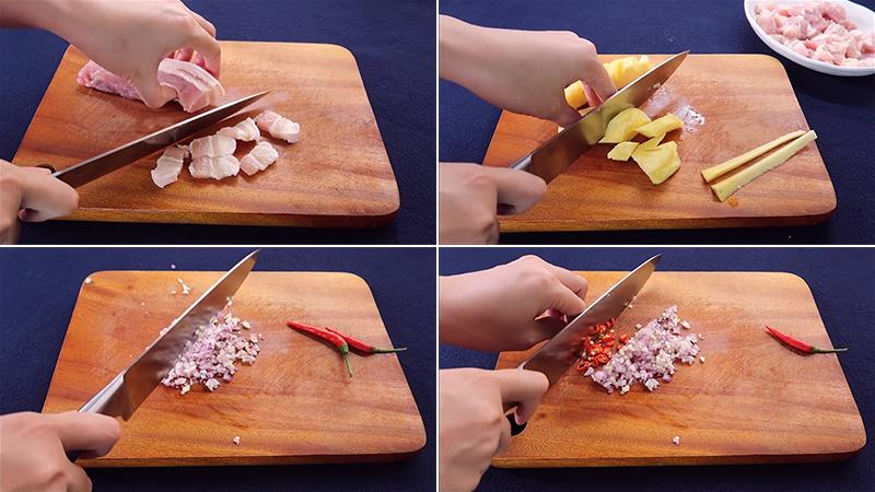 Cách làm thịt kho dứa đậm đà thơm ngon