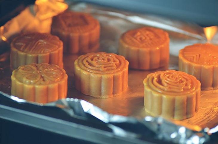 Bánh nướng bị ướt phần vỏ