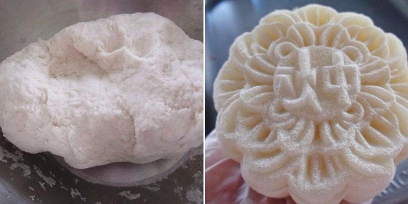 Bánh dẻo bị khô hoặc nhão