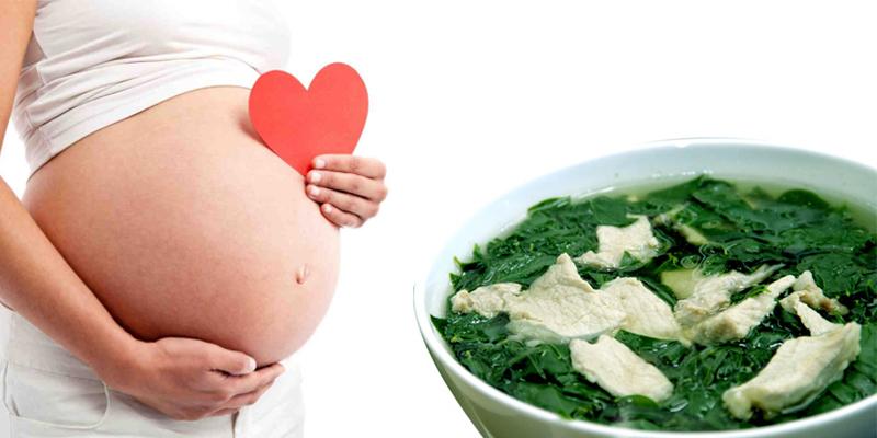 Bà bầu tuyệt đối không sử dụng rau ngót tươi sống, chỉ nên ăn khi đã được nấu chín và bắt đầu sử dụng tốt nhất ở 3 tháng giữa thai kỳ.