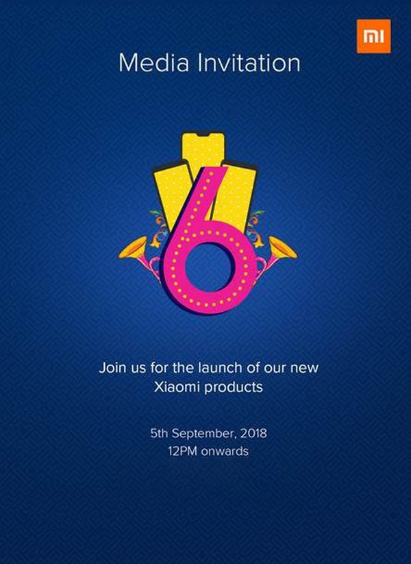 Xiaomi sẽ ra mắt dòng Redmi 6 series vào ngày 5/9 tại Ấn Độ