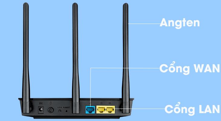 cấu tạo router wifi