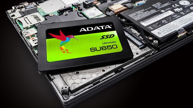 Tốc độ nhanh như chớp nhờ SSD