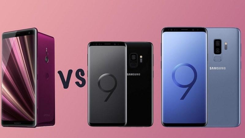 Cuộc chiến giữa Sony XZ3 và anh em nhà Samsung S9/S9 Plus sẽ ra sao?